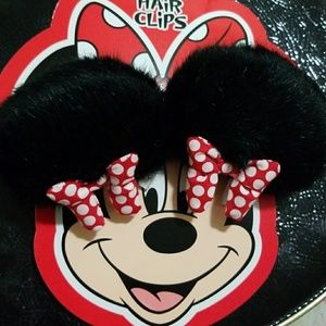 Minnie Hair Clips